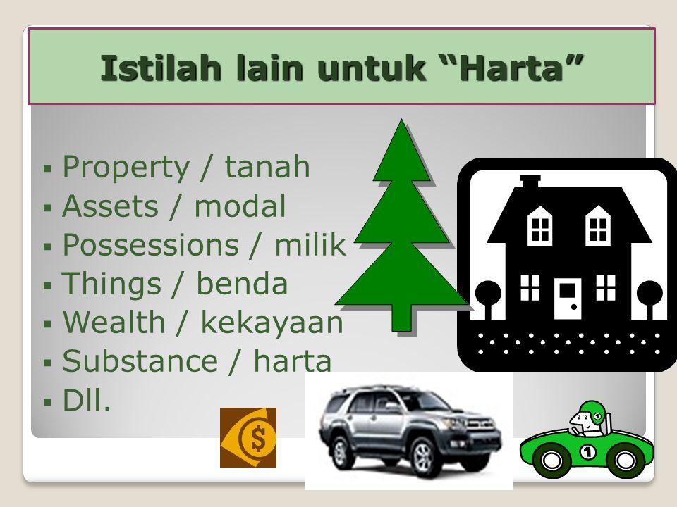 Perencanaan harta adalah satu rencana tertentu untuk mengatur dan membagi harta seseorang selama hidup dan pada saat mati.
