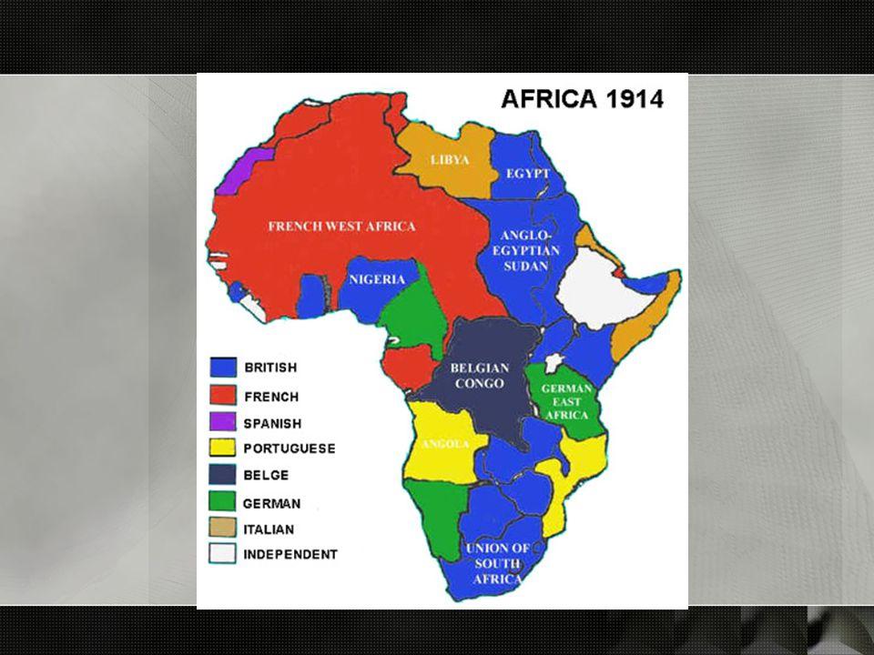 kolonisasi: beberapa karakter o colonialism on the cheap o hanya mengurus daerah dan sektor yang strategis o sistem pemerintahan, birokrasi, dan layanan publik seperlunya o thin white line o agen perantara o civilising missions o mengantarkan Afrika pada situasi yang lebih beradab o melancarkan kolonisasi di Afrika