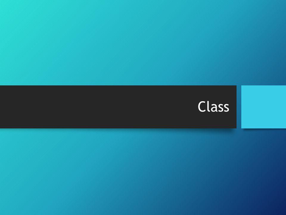 Object dan Class Object: Sebuah object adalah sebuah benda yang memiliki tujuan yang jelas.