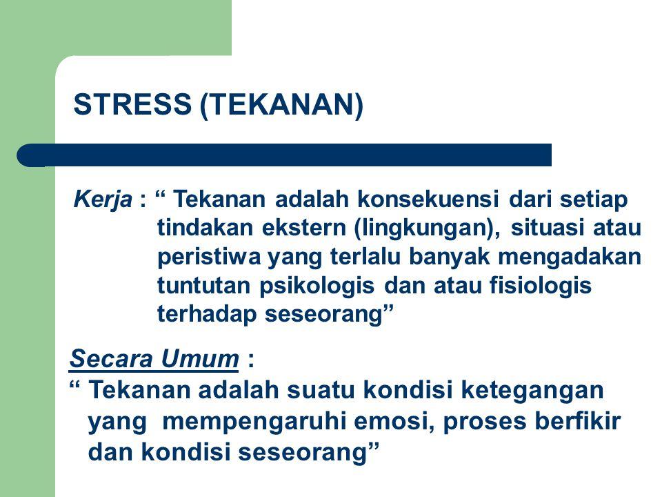 Apa itu Stress??.