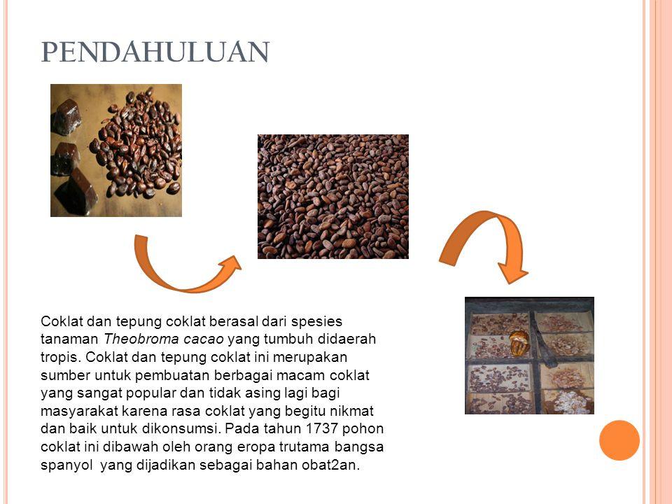 P ROSES F ERMENTASI B IJI C OKLAT DAN COKLAT Fermentasi merupakan salah satu tahap untuk meningkatkan produksi bbiji coklat.