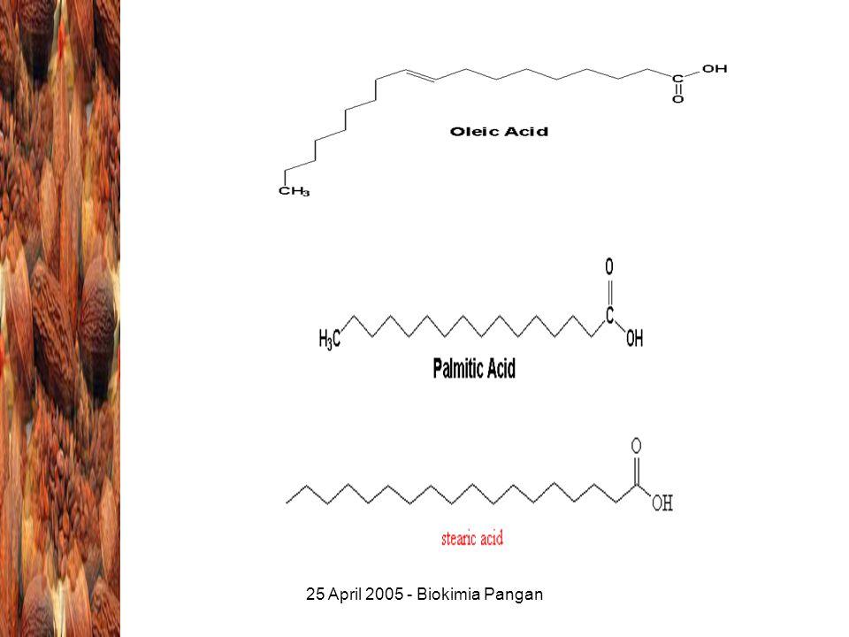 25 April 2005 - Biokimia Pangan