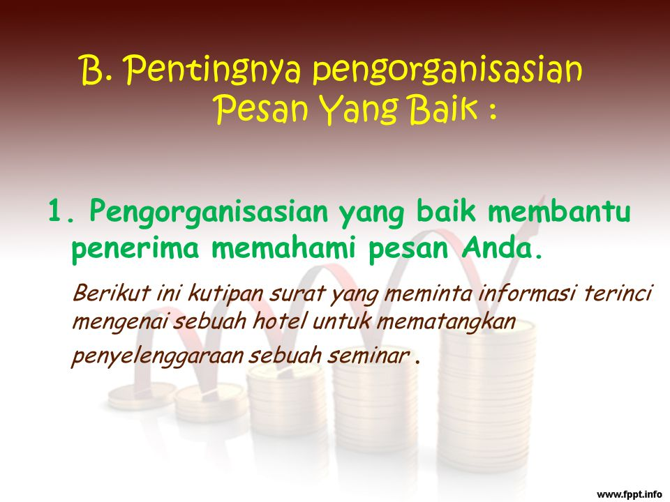 Perkenalkan saya Shanti dari STMIK MDP Palembang.Saya sebagai panitia seminar……..