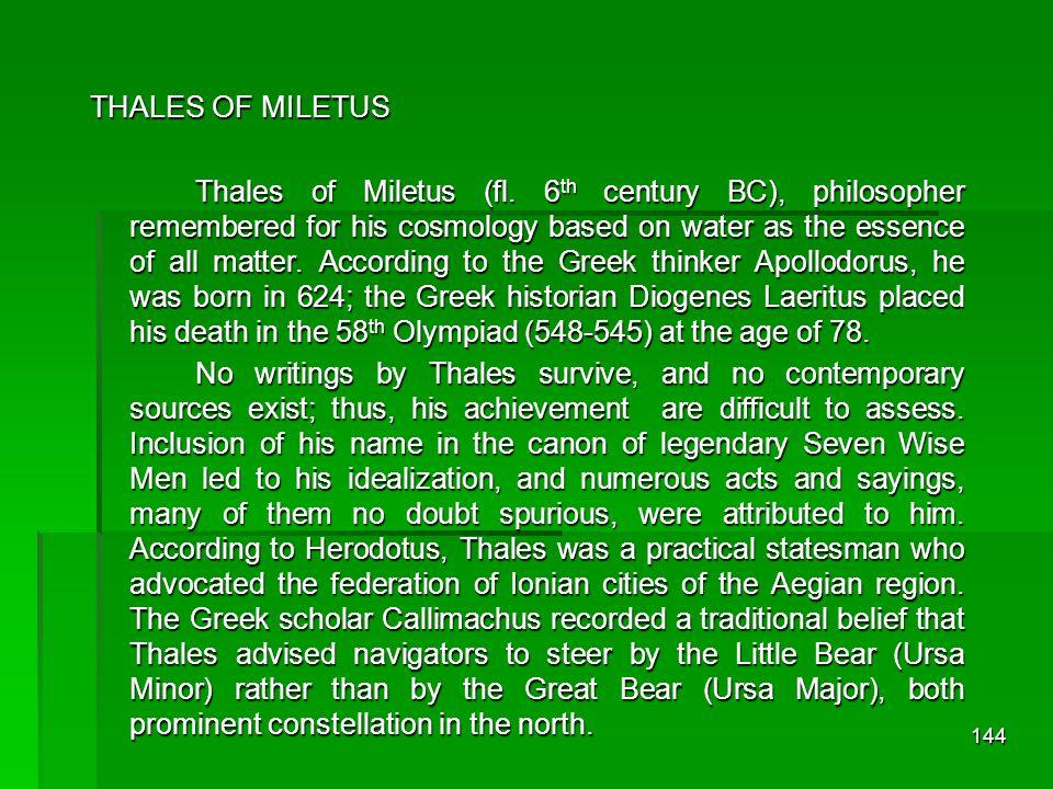 143 Unsur Dasar Alam Menurut Thales dari Miletus (± 624 sM - ± 546 sM) adalah airMenurut Thales dari Miletus (± 624 sM - ± 546 sM) adalah air Menurut Anaximenes (± 570 sM - ± 500 sM) adalah udaraMenurut Anaximenes (± 570 sM - ± 500 sM) adalah udara Menurut Xenophanes (± 570 sM - ± 480 sM) adalah tanahMenurut Xenophanes (± 570 sM - ± 480 sM) adalah tanah Menurut Heraklitus (± 540 sM - ± 475 sM) adalah apiMenurut Heraklitus (± 540 sM - ± 475 sM) adalah api Menurut Empedokles (± 490 sM - ± 430 sM) adalah kombinasi dari air, udara, tanah, dan apiMenurut Empedokles (± 490 sM - ± 430 sM) adalah kombinasi dari air, udara, tanah, dan api Sifat Dasar Unsur panas dan dinginpanas dan dingin kering dan basahkering dan basah Zaman Yunani Kuno Pra-Sokrates: Unsur Alam