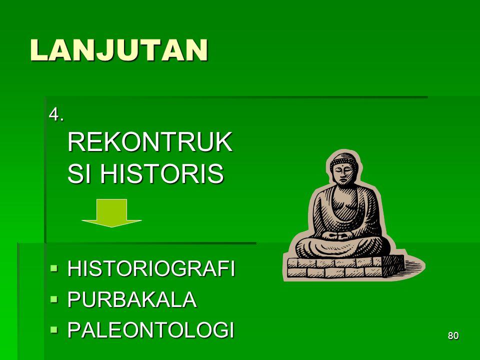 79 LANJUTAN 3. EKSPOSISI POLA  SOSIOLOGI  POLA-POLA BUDAYA  ANTROPOLOGI  PERKEMBANGAN BUDAYA