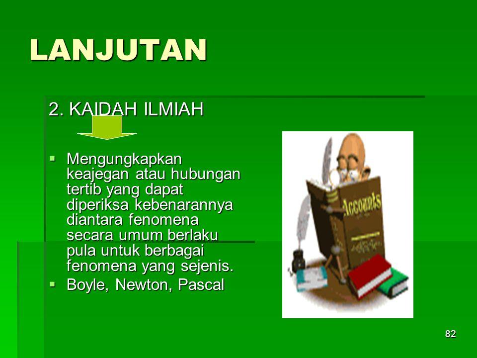 81 PROPOSISI ILMU PENGETAHUAN 1.
