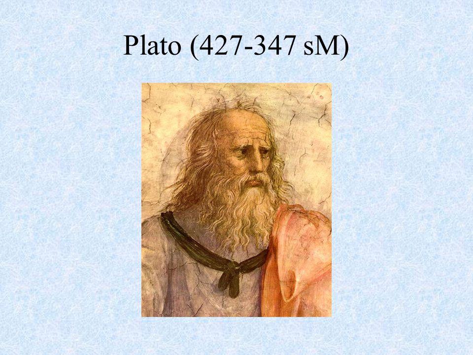 Plato (427-347 sM)