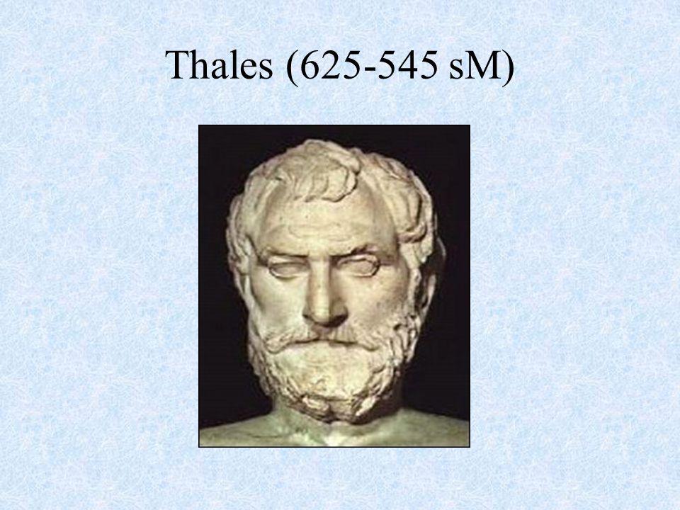 Thales (625-545 sM)