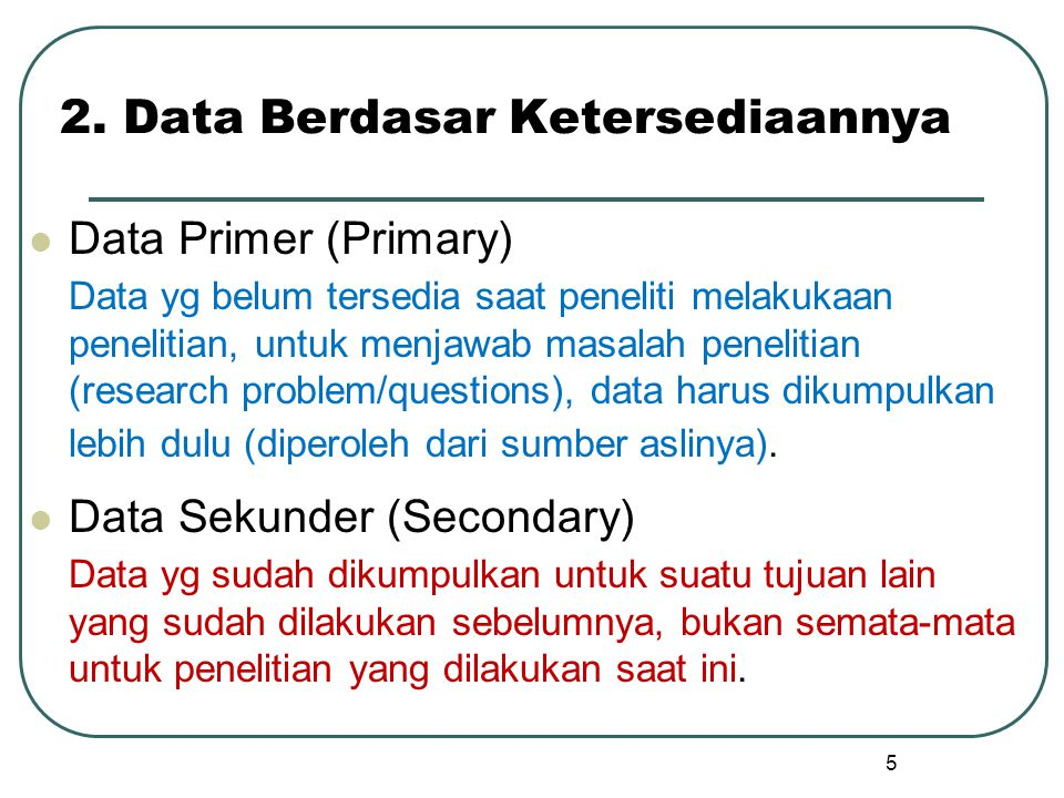 6 A Comparison of Primary & Secondary Data Collection Primary Data Secondary Data PurposeFor the problem at hand For other problems ProcessVery involved Rapid & easy CostHigh Relatively low TimeLong Short