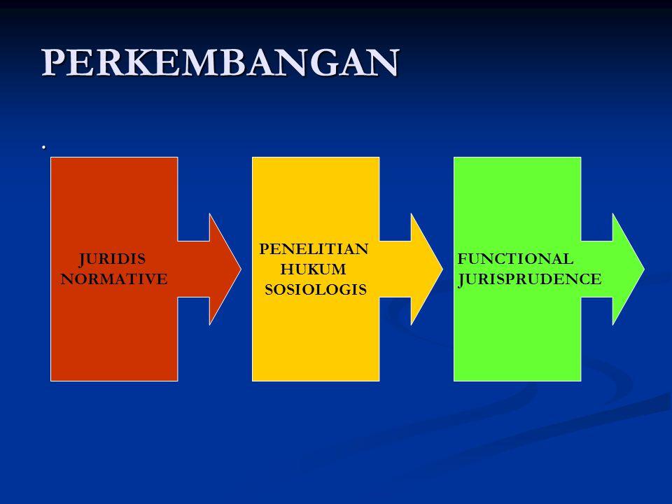 TIPOLOGI PENELITIAN HUKUM Perbedaan mendasar dari kedua klasifikasi penelitian hukum tersebut terletak pada cara pandang peneliti terhadap hukum.