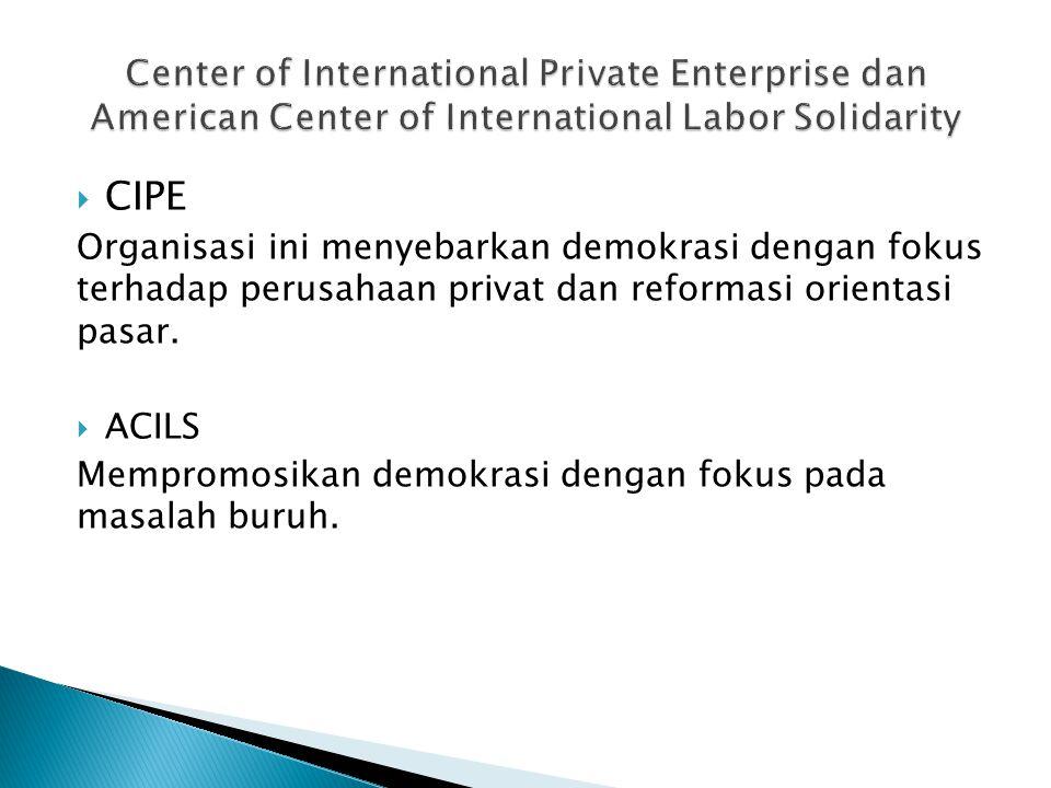 cipe.org  iri.org  ndi.org  ned.org