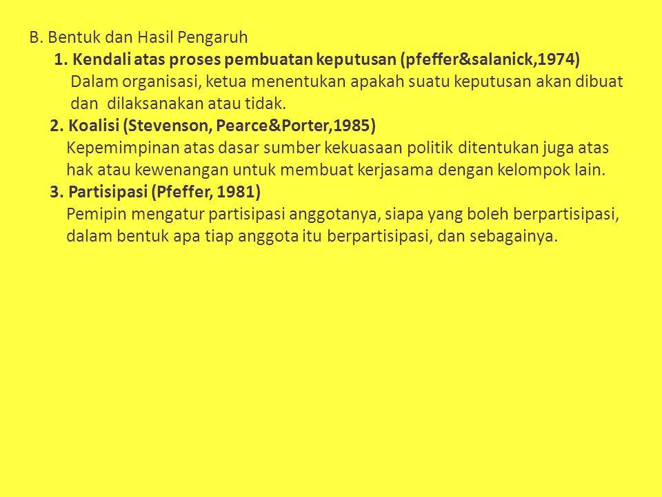 C.Jenis Sumber Kekuasaan Menurut Amitae Etzione Jhon P.