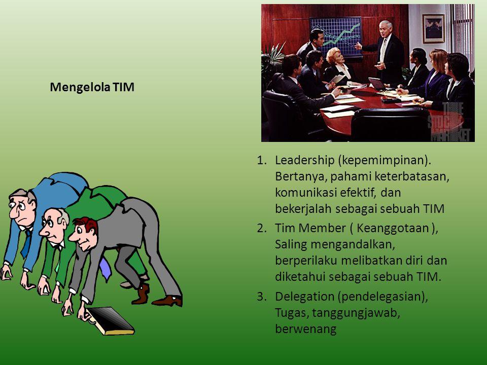 Penghambat TIM Efektif 1.Lemahnya Kemampuan mengarahkan 2.Tidak ada kepercayaan 3.Enggan berinteraksi sosial dan kurang adanya rasa tanggungjawab 4.Bertengkar 5.Kurangnya Dukungan dari Luar 6.Adanya Gap ketrampilan kritis