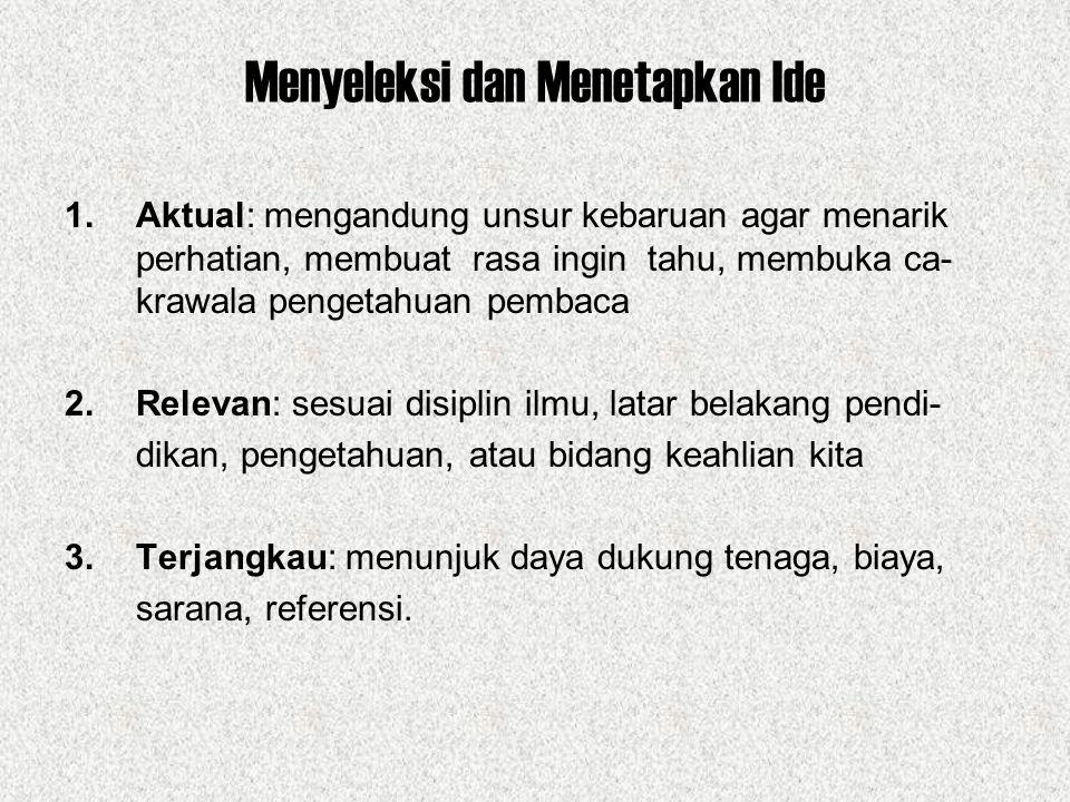 Struktur Artikel Jurnalistik 1.