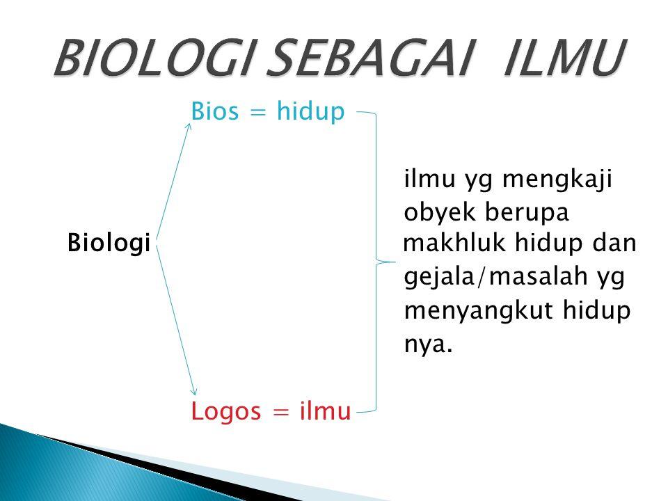  Metode ilmiah adalah suatu prosedur kerja yang sistematis untuk mendapatkan fakta-fakta tentang fenomena kehidupan dan alam.