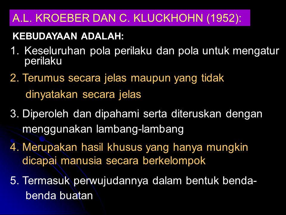 A.L.KROEBER DAN C.