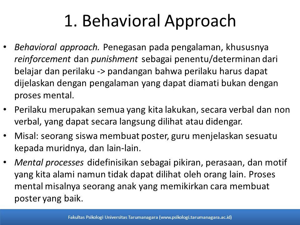  Shaping: -memfokuskannya pada suatu seri langkah-langkah yang akhirnya mengarah kepada perilaku yang diinginkan.