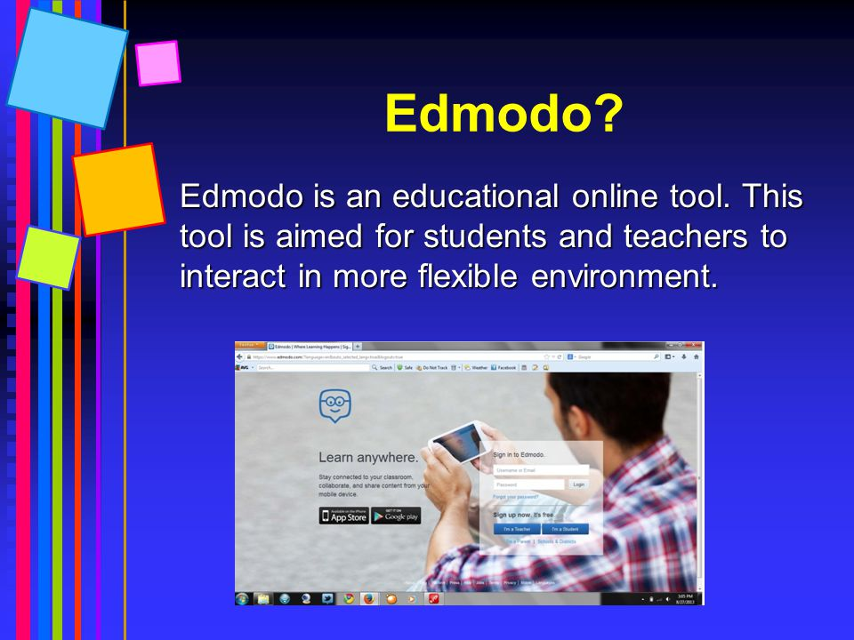 Edmodo sebagai contoh: Edmodo: Edmodo: Providing Students with a New Digital Writing Experience Providing Students with a New Digital Writing Experien