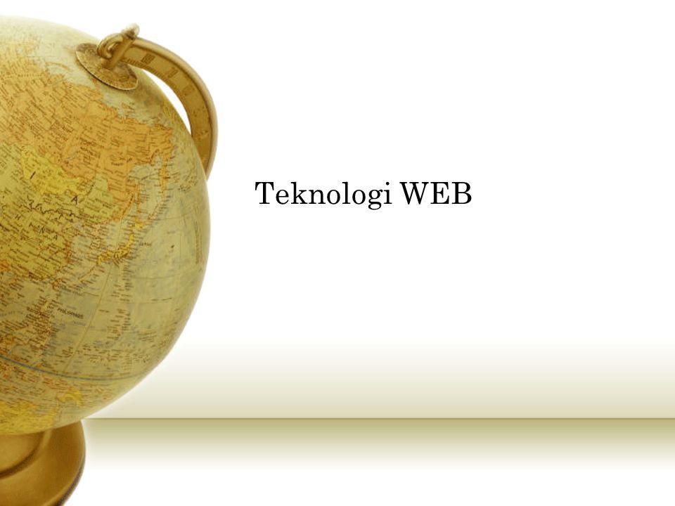WEB Service...Adalah aplikasi yang dapat diakses oleh aplikasi yang lain.