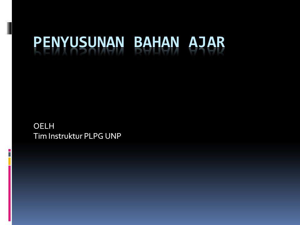 OELH Tim Instruktur PLPG UNP