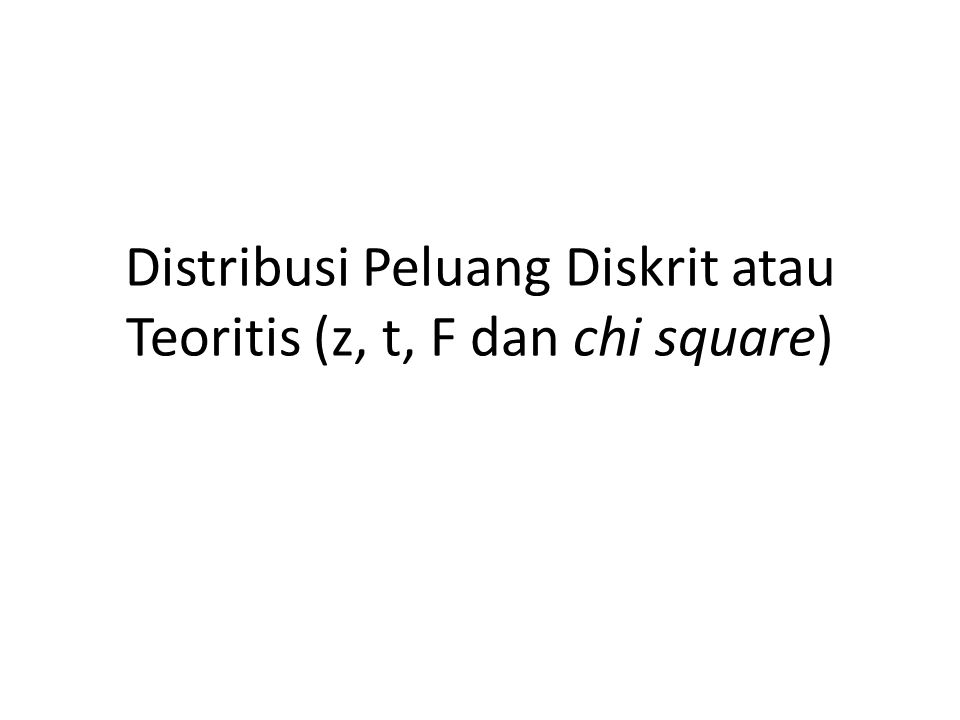 DISTRIBUSI NORMAL Pengertian Distribusi normal salah satu distribusi teoretis dari variabel random kontinu.