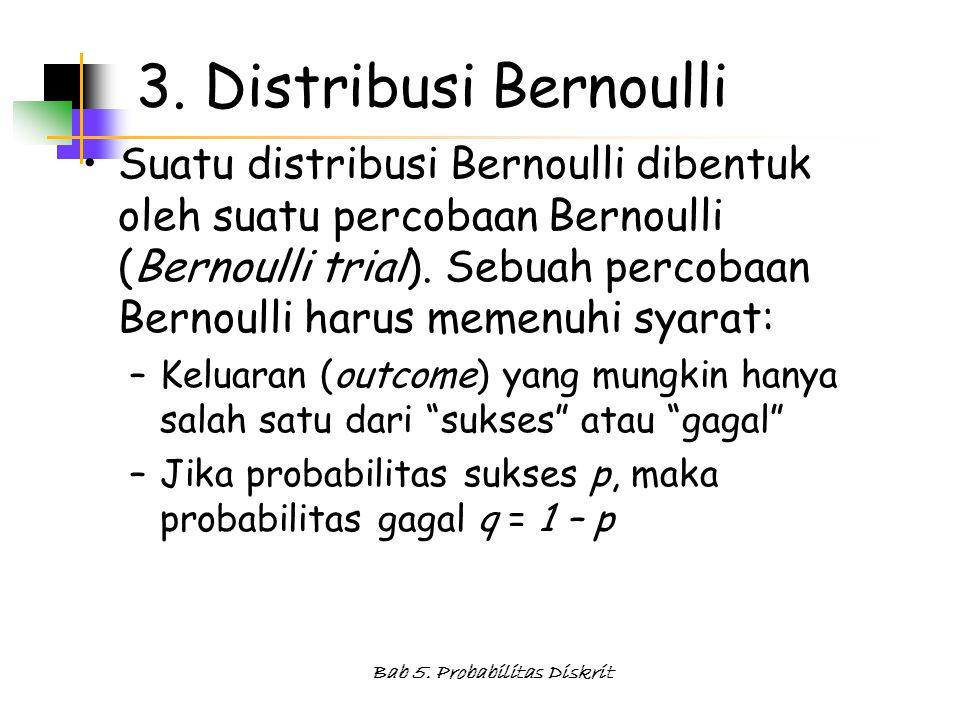 Bab 5.Probabilitas Diskrit 3.