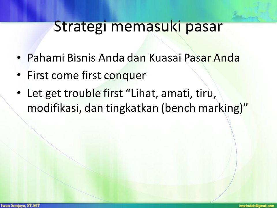 Strategi yang dilakukan dalam membangun sebuah produk baru