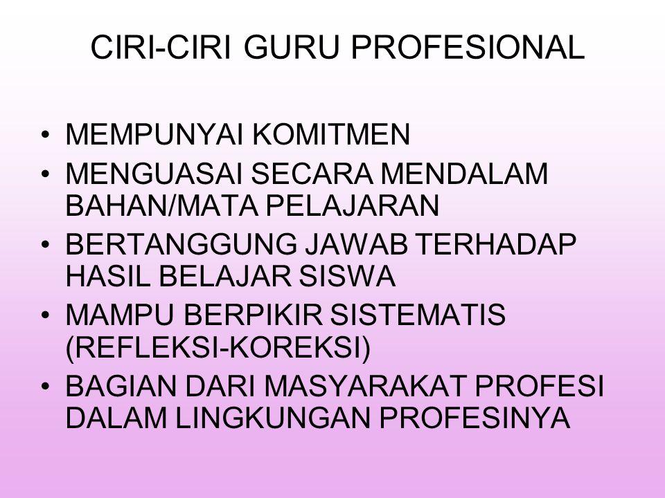 Hard Profession Pekerjaan Professional Soft Profession Perilaku Dapat didetailkan Perilaku Relatif pasti Output pend.