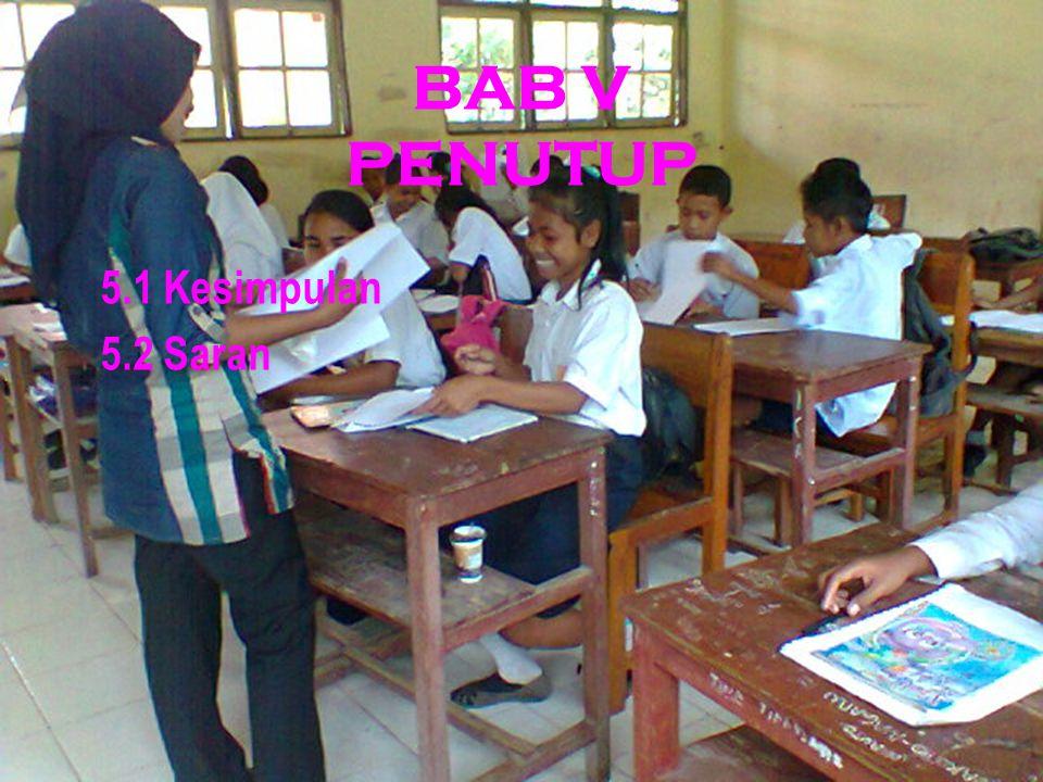 BAB IV HASIL DAN PEMBAHASAN 4.1 Hasil Penelitian 4.1.1 Deskripsi Tes Awal 4.1.2 Tingkat Penguasaan Siswa setelah Menggunakan Penerapan Pembelajaran Mo