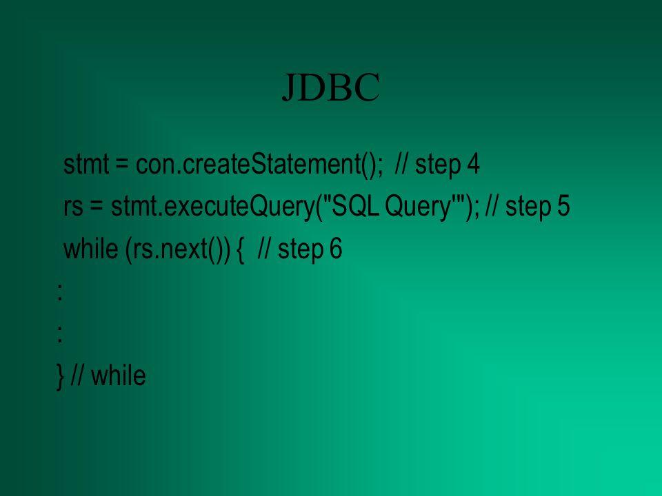 Java to mysql Setting Classpath, prosesnya sama dengan setting classpath yang lain –Pada Win98, Start ->Run (sysedit), kemudian pada autoexec.bat tambahkan C:\mysql- connector-java-2.0.14, yang merupakan letak subdir JDBC Driver