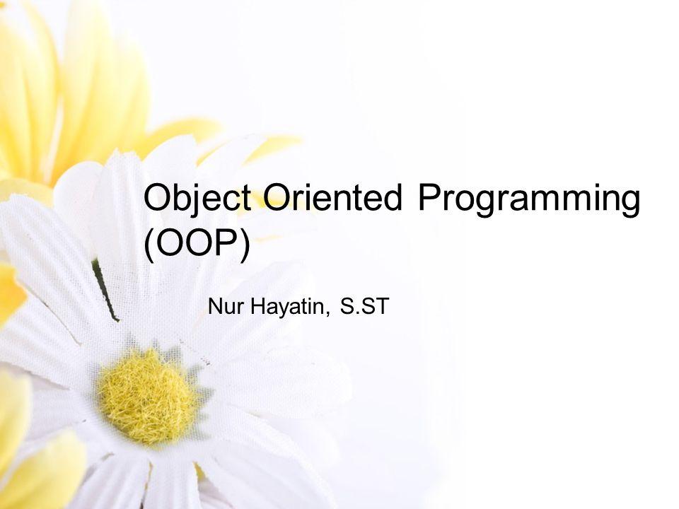 Topik Perkuliahan Introduction Paradigma OOP(Class dan Object) Class Member Struktur Dasar Java input output Karakteristik OOP(Enkapsulasi, Inheritance, Polimorfisme) Exception Handling Java Collection Framework Java GUI