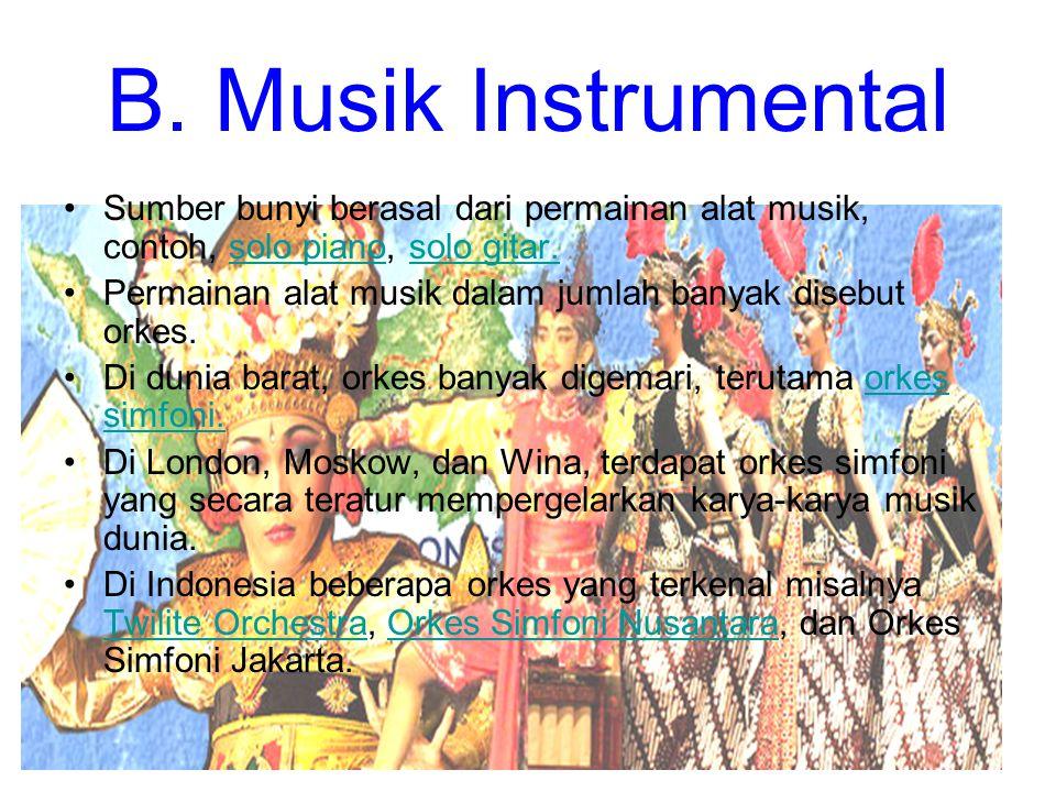 Pembagian Seni Musik Berdasarkan Proses Penciptaan
