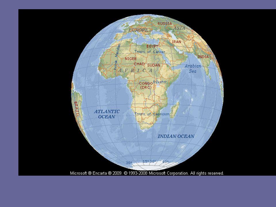 Relief (Bentang alam) Berdasarkan bentang alamnya benua Afrika terbagi menjadi : a.