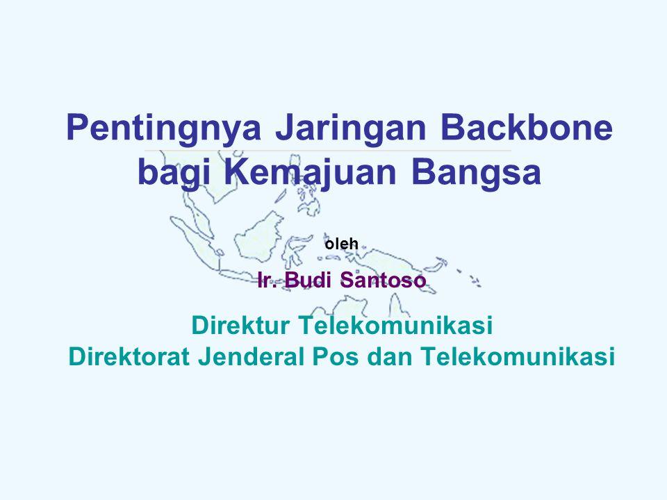 Pentingnya Jaringan Backbone bagi Kemajuan Bangsa oleh Ir.