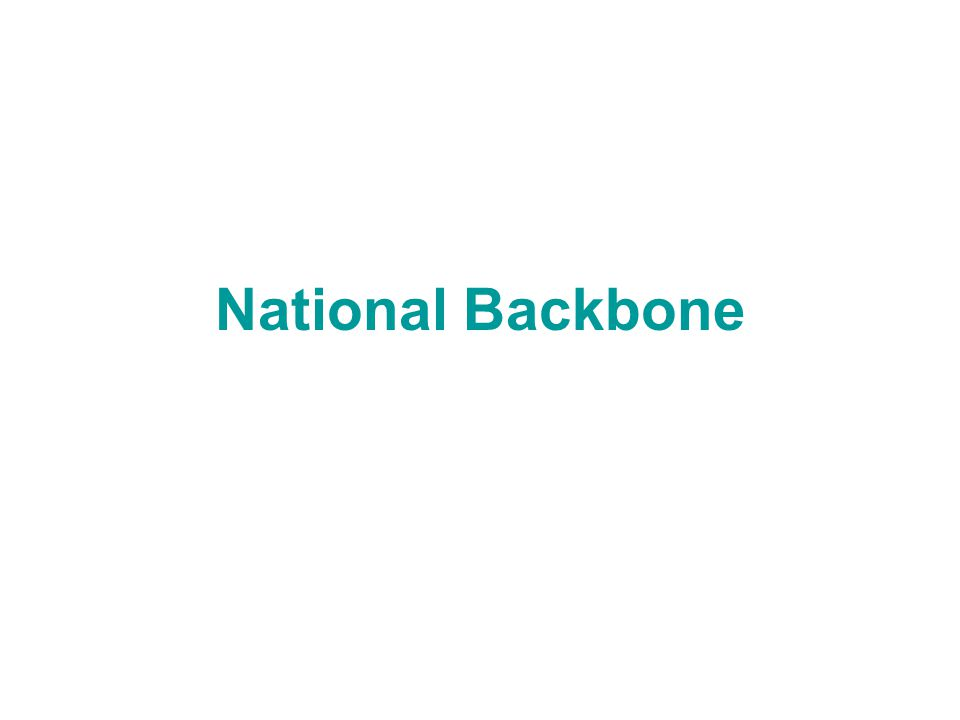 National Backbone