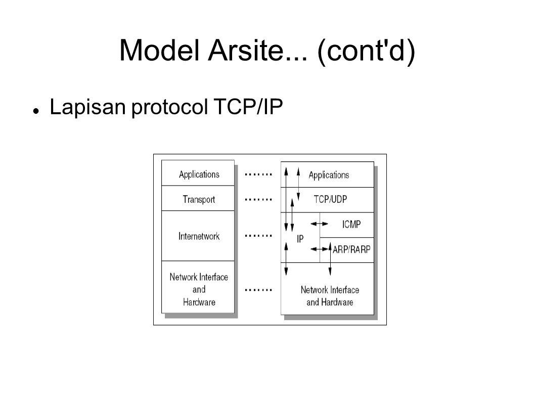 Model Arsite...