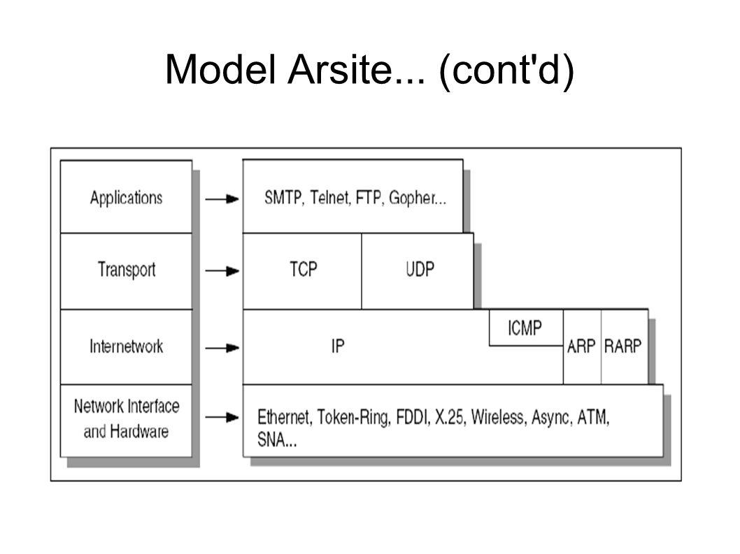 Aplikasi TCP/IP  Merupakan program aplikasi yang dibuat untuk pengguna  Menggunakan menakisme TCP/UDP  Menggunakan model interaksi client/server