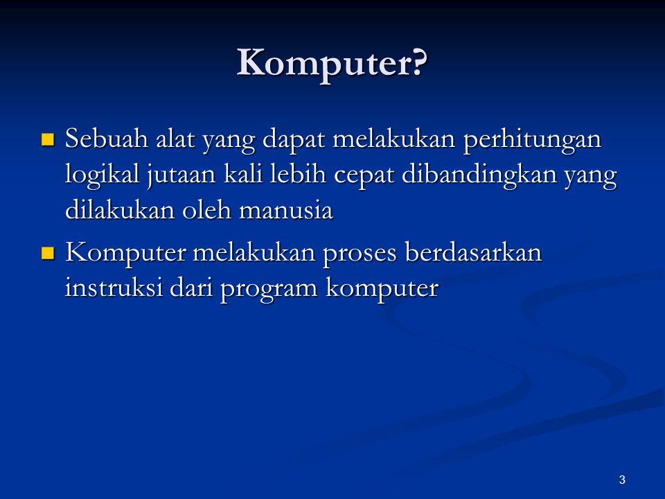3 Komputer.