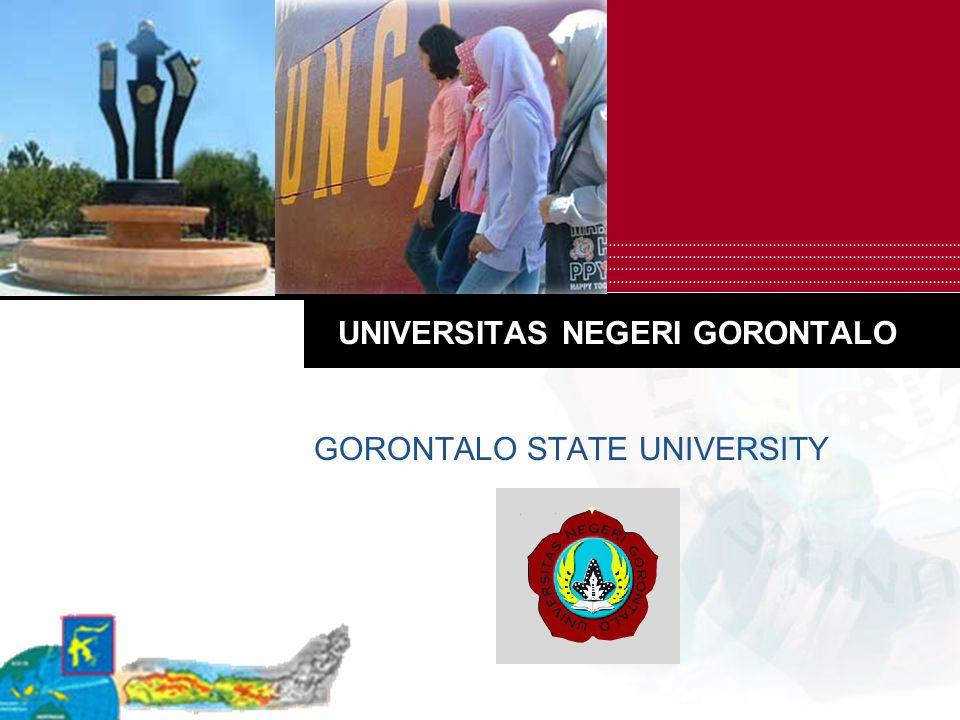 UNIVERSITAS NEGERI GORONTALO GORONTALO STATE UNIVERSITY