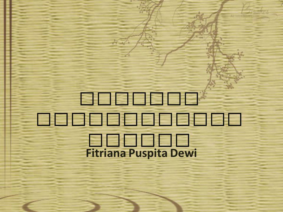 SEJARAH KESUSASTRAAN JEPANG Fitriana Puspita Dewi