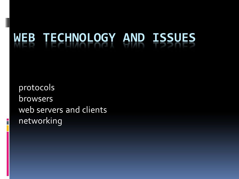 protocols browsers web servers and clients networking