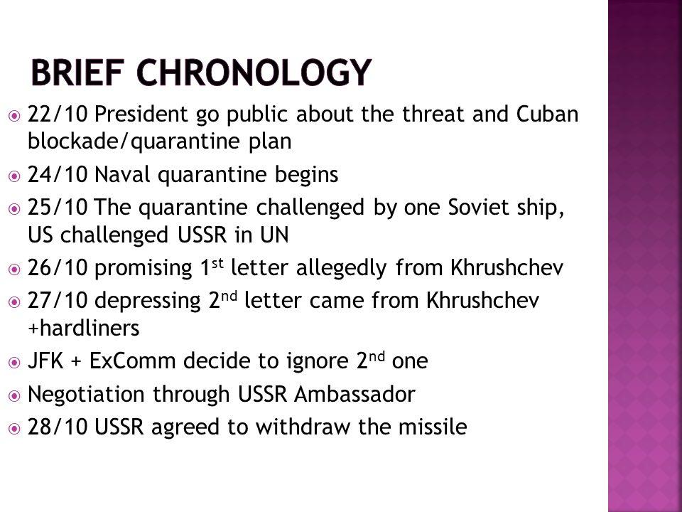  AS dan Soviet sama-sama sebagai agen, situasi saat itu seperti adu gertak menggertak eyeball to eyeball .