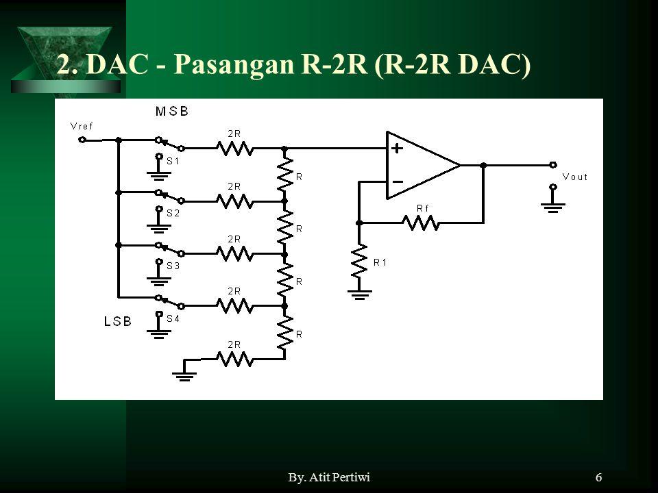 6 2. DAC - Pasangan R-2R (R-2R DAC)