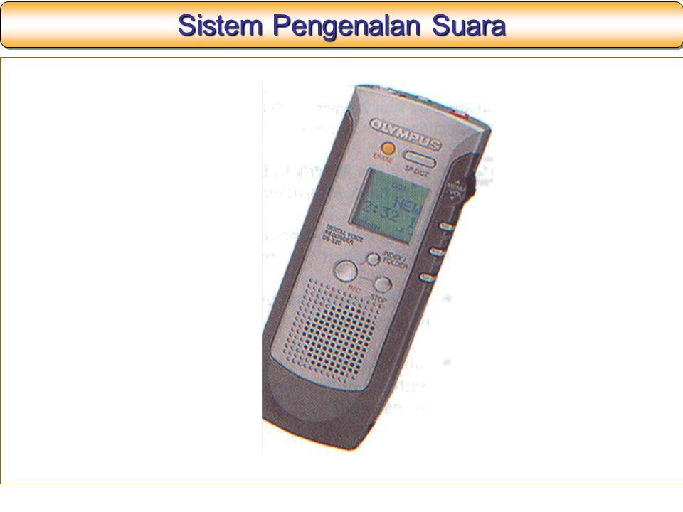 Sistem Pengenalan Suara