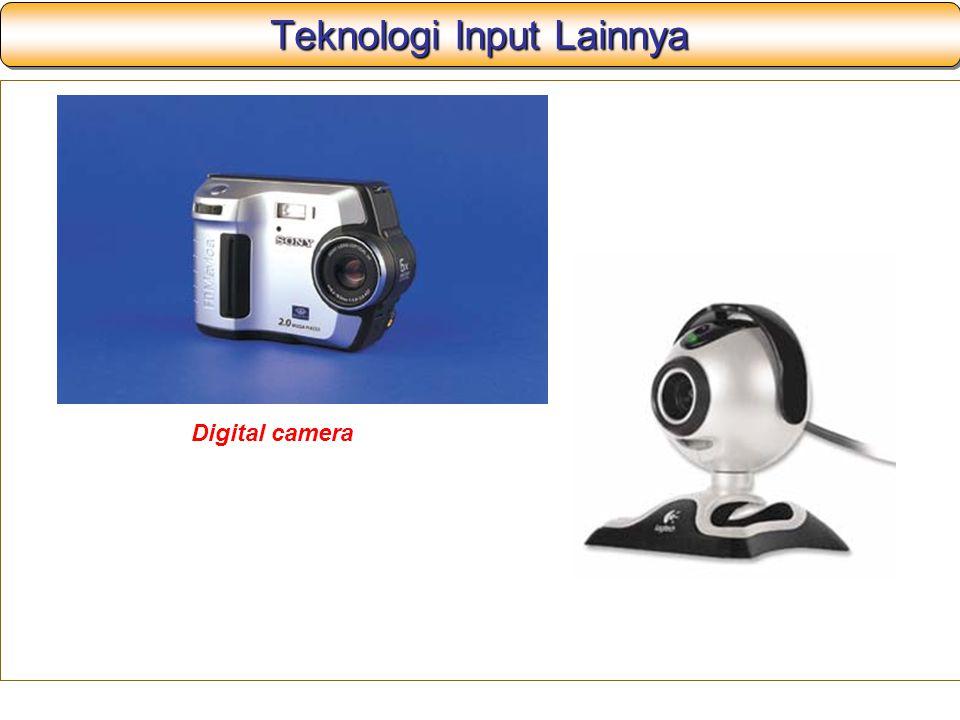Teknologi Input Lainnya Digital camera