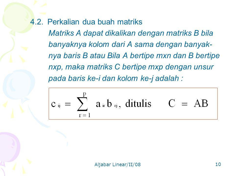 Aljabar Linear/II/08 10 4.2.