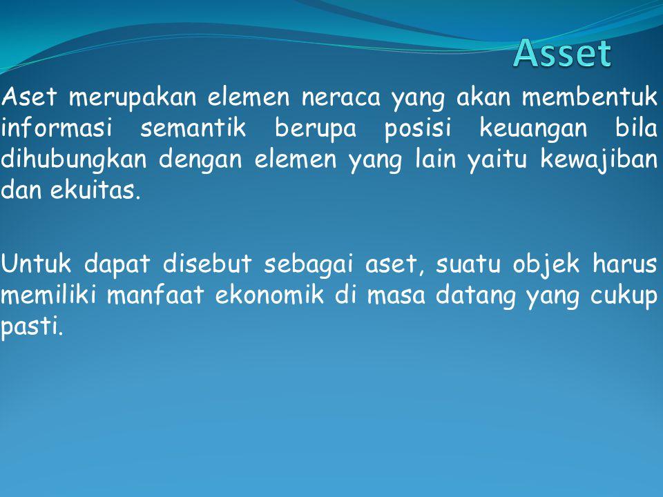 Pengertian dan karakterisitik - karakteristik asset: Menurut FASBFASB Menurut IASC Menurut AASBAASB Menurut APB Menurut IFRSIFRS