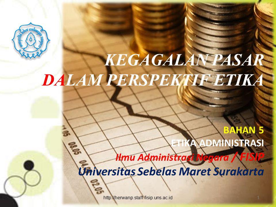 Kesimpulan : Keempat bentuk struktur pasar yg ada semuanya memiliki unsur yg dapat diterima maupun unsur yg tidak cocok dengan kondisi di Indonesia.