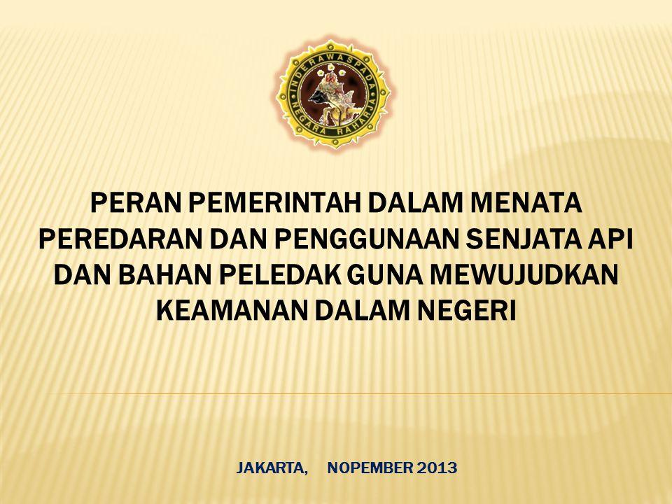 JAKARTA, NOPEMBER 2013