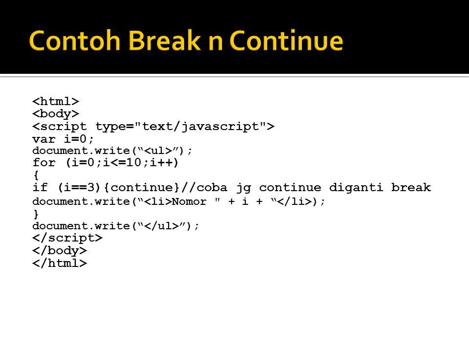  Event yang bisa dikenakan ke elemen HTML tu ada banyak.